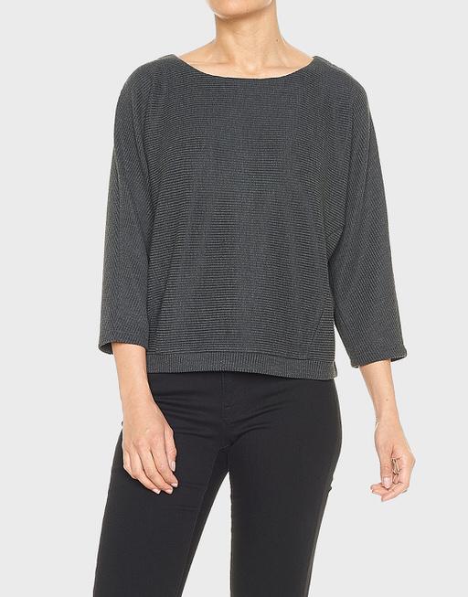 Oversize-Shirt Gemila grau online bestellen | OPUS Online Shop
