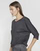 Oversized shirt Sellina slate grey melange
