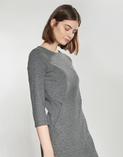 Kleid Wadia slate grey melange