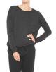 Boxy Shirt Silkina slate grey melange