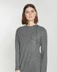 Sweatkleid Wusali slate grey melange