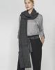 Schal Anine scarf slate grey melange