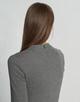 Jerseyjurk Wonita slate grey melange