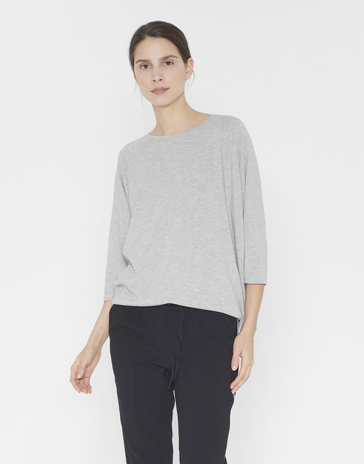 Oversized shirt Salty iron grey melange