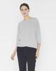 Oversize Shirt Salty iron grey melange