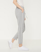 Business Hose Melosa pin iron grey melange