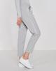 Business Hose Melosa single stripe iron grey melange