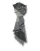 Oversize Schal Adami scarf iron grey melange
