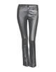 Coated jeans Emily metallic iron grey melange
