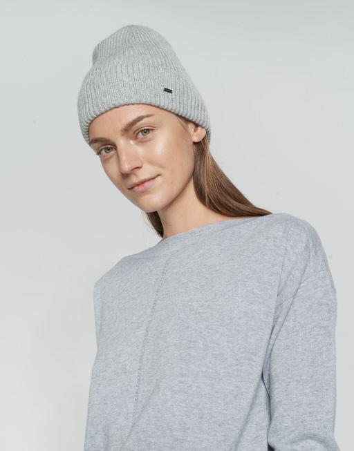 Strickmütze Alasi cap iron grey melange