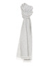Streifenschal Asebra scarf iron grey melange