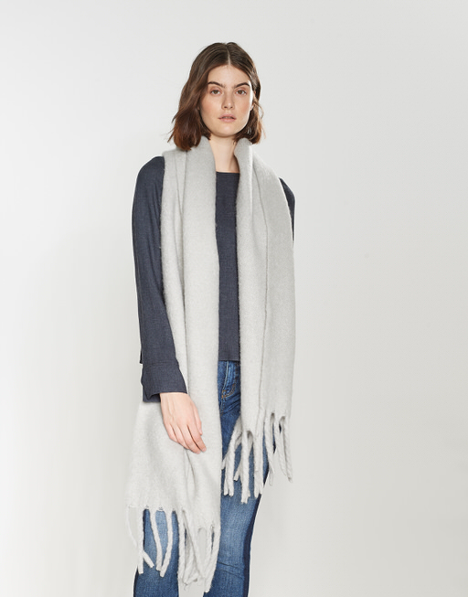 Oversized scarf Aflisa scarf grey by OPUS   shop your favourites online efcf305aad72
