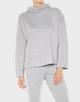 Boxy-Shirt Gopara iron grey melange