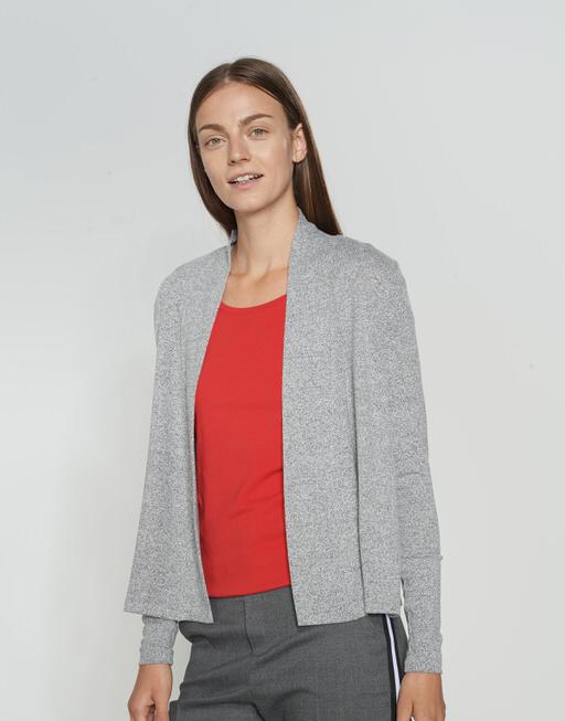 Shirtjacke Sofiana iron grey melange