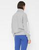 Sweater Gristy print iron grey melange