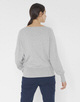 Oversize Pullover Prisilla iron grey melange