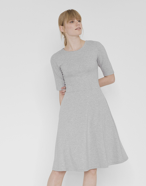 Jerseykleid Winosa iron grey melange