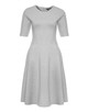 Jersey dress Winosa iron grey melange
