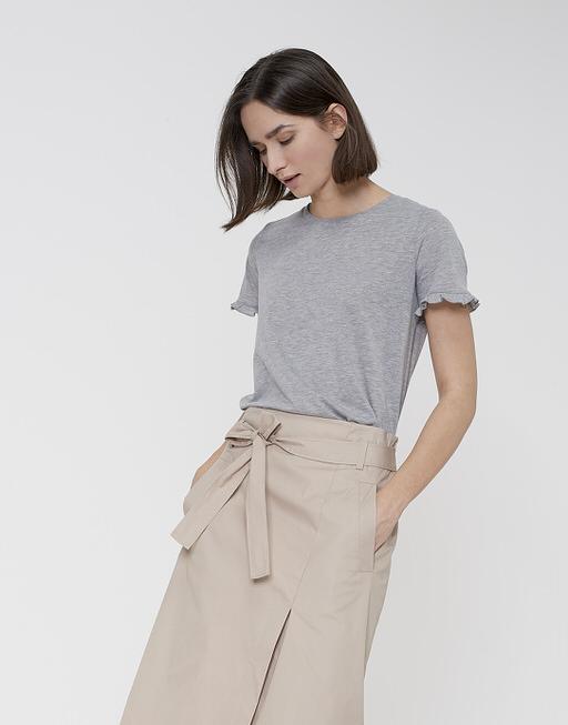 T-Shirt Sereia iron grey melange