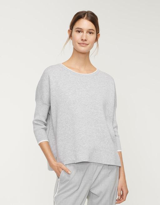 Oversize Pullover Petranos iron grey melange