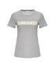 Shirt met print Santasta print HS iron grey melange