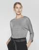 Oversize Shirt Sollie iron grey melange