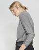 Oversized shirt Sollie iron grey melange