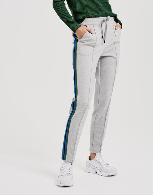 Trousers Marine iron grey melange