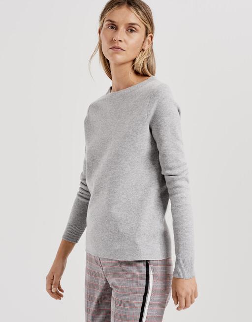 Pullover Polviny iron grey melange