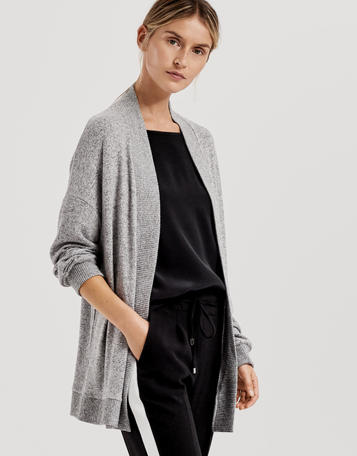 Shirtjacke Silka iron grey melange
