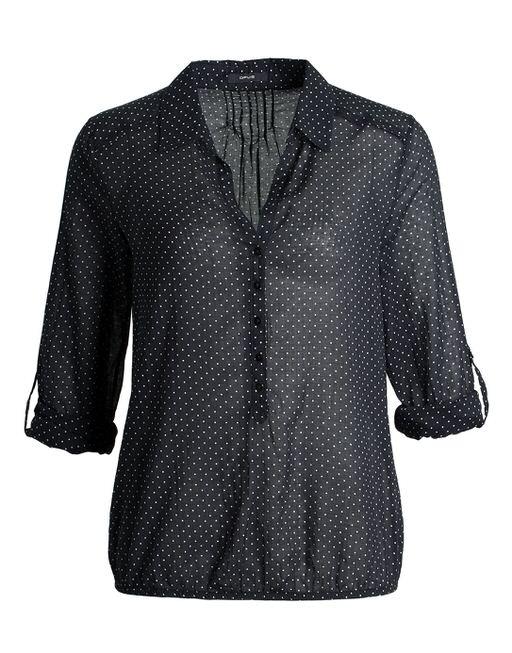 Dot blouse Felkoni black