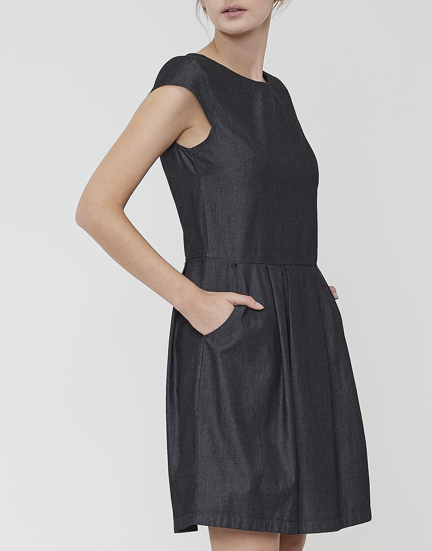 Sommerkleid Wolantha black schwarz online bestellen | OPUS ...