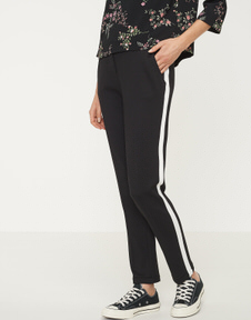 Stoffen broek Madeni side stripe