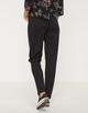Stoffhose Madeni side stripe black