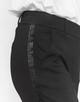 Stoffen broek Madeni glitter black