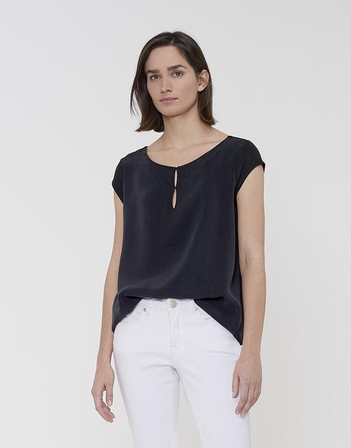 Rundhals Shirt Squilly black