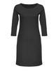 Jerseykleid Wonka solid black