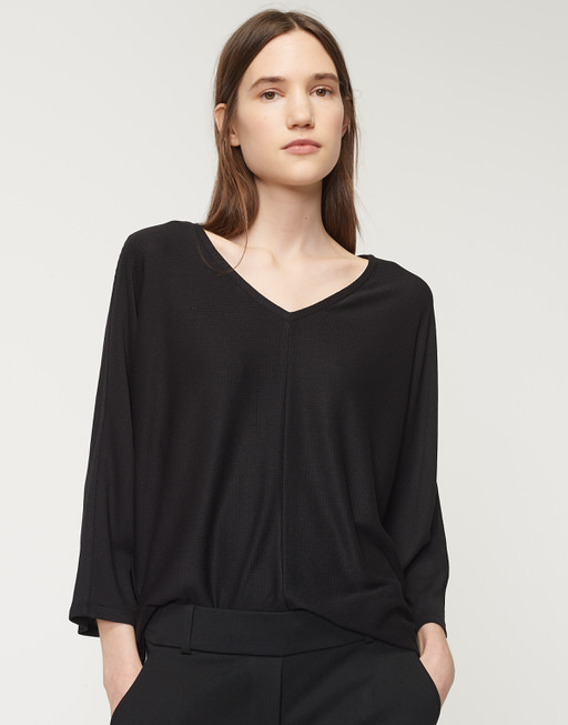 Oversized shirt Slindi black