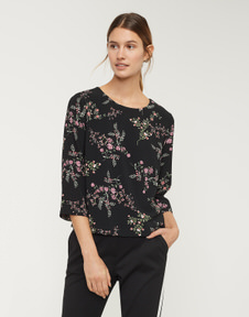 Blouse with print Falesha bloom