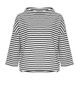 Sweatshirt Gesini stripe black
