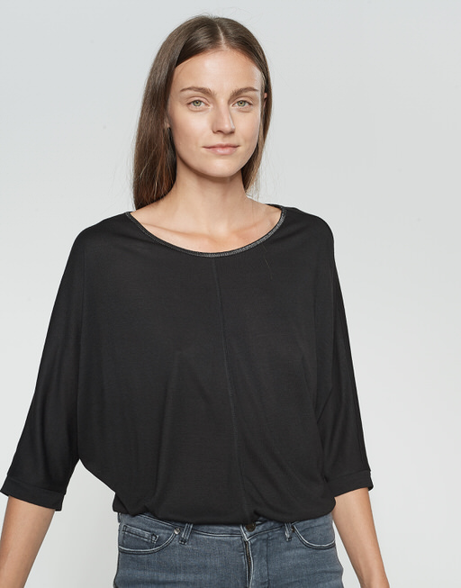 Oversize Shirt Sellina black