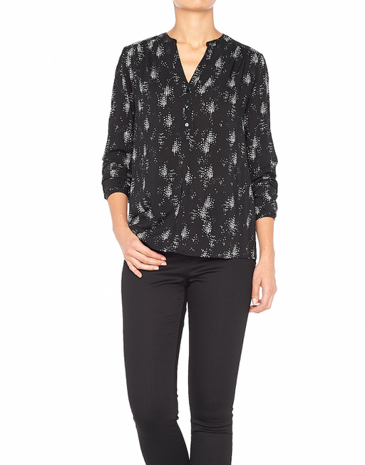 Blouse with print Fada black