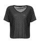 Boxy Shirt Santo black