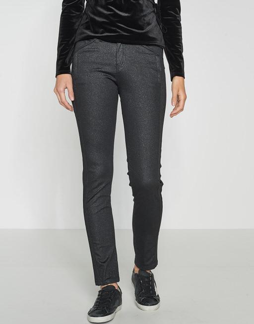 Skinny jeans Emily glitter black