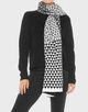 Strickschal Amisa scarf black
