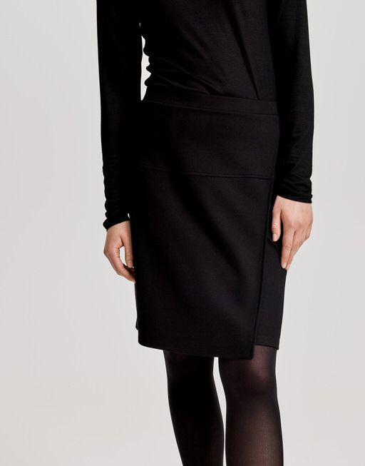 wrap skirt Rinako  black