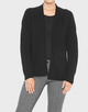 Strickjacke Dempa black