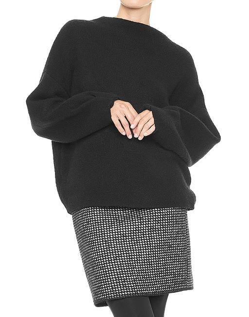 3f7015682c0867 Oversized trui Poldy zwart online bestellen