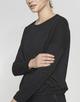 Boxy Shirt Silkina glitter black