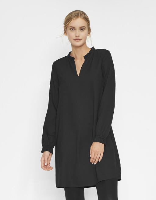 Blusenkleid Worra black